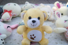 Plush toys Stock Images