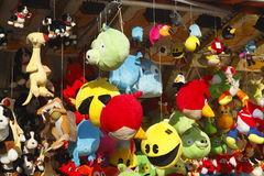 Plush toys Stock Images
