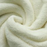 Plush White Blanket Swirl Square Background Royalty Free Stock Image