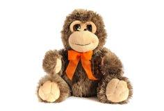 Plushy игрушка обезьяны стоковое фото rf