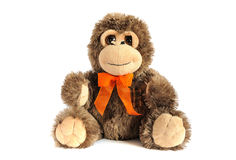 Plushy monkey toy royalty free stock photo