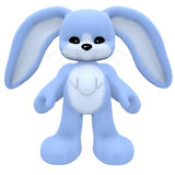 Plushy Rabbit. With isolation on a white background Stock Photography