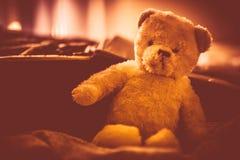 Plushy Teddy αντέχει Στοκ Εικόνες