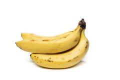 Plusieurs bananes mûres Photo stock
