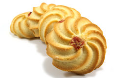 Plusieurs biscuits savoureux Image stock