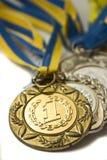 Plusieurs médailles Photo libre de droits