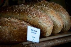 Plusieurs pains de pain français d'artisan Images stock