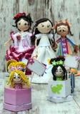 Plusieurs poupées Photographie stock