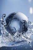 plusk abstrakcyjna wody Fotografia Royalty Free
