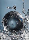plusk abstrakcyjna wody Zdjęcie Royalty Free
