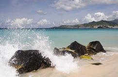 plusk karaibów Obrazy Royalty Free