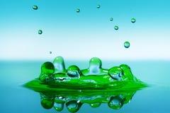 plusk wody Zdjęcia Royalty Free