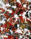 Pluskający kolory Abstrakcjonistyczni obraz royalty free