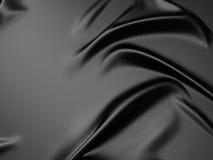 Pluskoczący czarny jedwabniczej tkaniny tło ilustracji