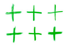 Pluszeichen für mathematische Operationen Lizenzfreie Stockfotografie