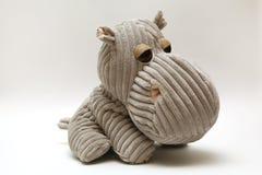 Pluszowy hipopotam obrazy stock