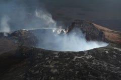 Plutônio 'u O'o Kiluea Havaí imagem de stock