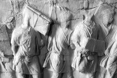Plutei von Trajan Stockbild