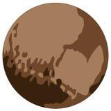 Pluto νάνος πλανήτης Στοκ Εικόνες