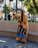 Pluto all'avventura della California Fotografia Stock Libera da Diritti