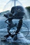 Pluto at disneyland hong kong. Statue of pluto in a playful motion at disneyland, hong kong Royalty Free Stock Image