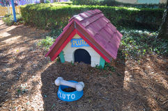 Pluto Dog House in Disney World Orlando Royalty Free Stock Photo