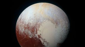 Pluto imaged by New Horizons