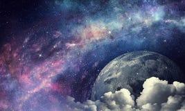 Pluto-Planet Gemischte Medien stockfotos