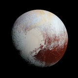 Pluto Planet Solar System space Royalty Free Stock Images