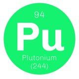 Plutonium chemical element Stock Images
