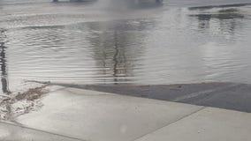 Pluvieux, salut, inondant photo stock