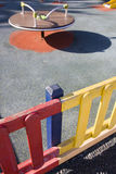 Plyground. Playground next to an elementary school Royalty Free Stock Photography