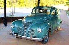 Plymouth azul em Elvis Presley Museum imagens de stock