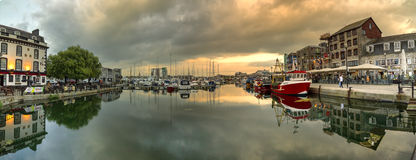 Plymouth Barbican, Devon, UK Stock Image