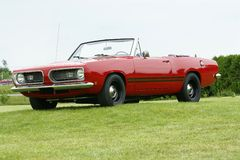 Plymouth-Barracuda Stockbild