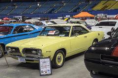Plymouth barracuda with mod top Stock Image