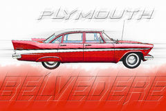 Plymouth Belvedere Royalty Free Stock Photos