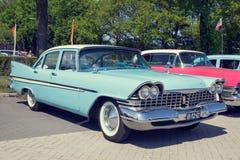1959 Plymouth-Belvedere klassieke auto Stock Afbeelding