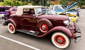 Plymouth cabriolet 1933 Royaltyfri Foto