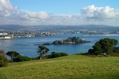 Plymouth city in south coast of England. Stock Image