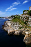Plymouth coast panorama,England Royalty Free Stock Photography