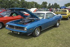 1970 Plymouth Cuda Royalty-vrije Stock Foto