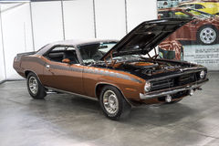 Plymouth Cuda Stockbild