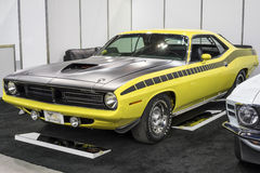 Plymouth cuda aar Royalty Free Stock Photo