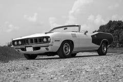 Plymouth-cuda Kabriolett Lizenzfreie Stockbilder