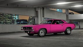 1970 Plymouth Cuda Royalty Free Stock Image