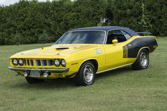 Plymouth cuda Royalty Free Stock Image