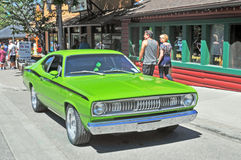 Plymouth Duster Stock Photography