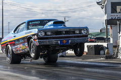Drag racing Royalty Free Stock Image