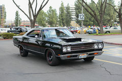 Plymouth GTX classic car on display Royalty Free Stock Photos